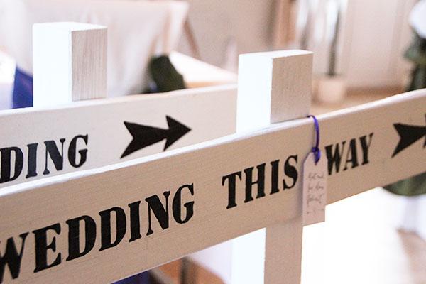 wedding schilder und hochzeitsschilder mieten weddstyle. Black Bedroom Furniture Sets. Home Design Ideas