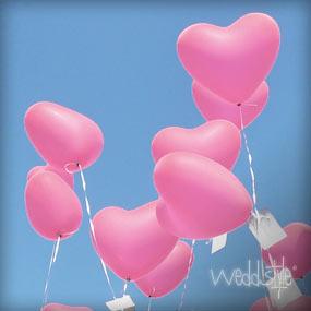 helium luftballons f r ihre hochzeit kaufen weddstyle. Black Bedroom Furniture Sets. Home Design Ideas
